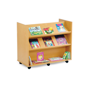 Angled Mobile Book Unit