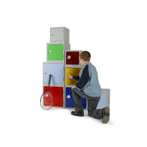Low Height Cube Lockers