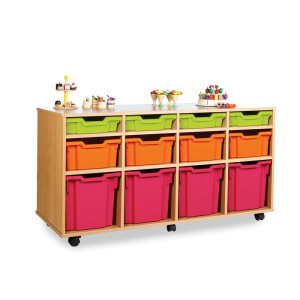 Variety Mobile 12 Tray Storage Unit