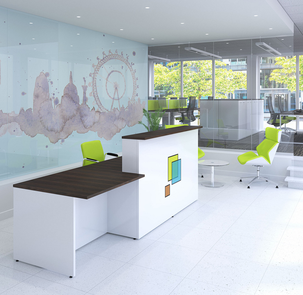 Ambus Streamlin Reception Counter