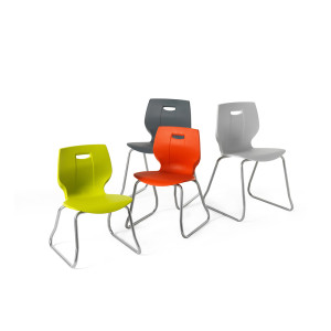 Geo Skid Base Chairs