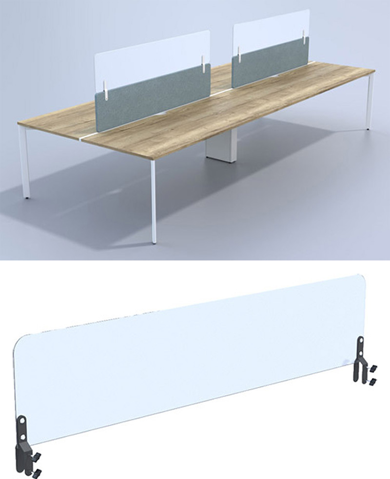 Extension Screens for desks