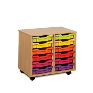 2 Bay Classroom Storage Unit