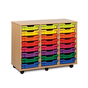 3 Bay Classroom Storage Unit