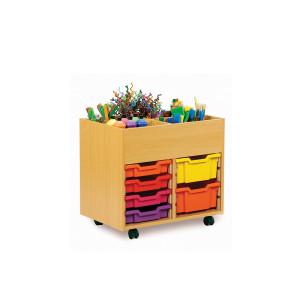 Book & Art Storage Unit