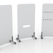 Sneeze Guard Screens - desk partitions